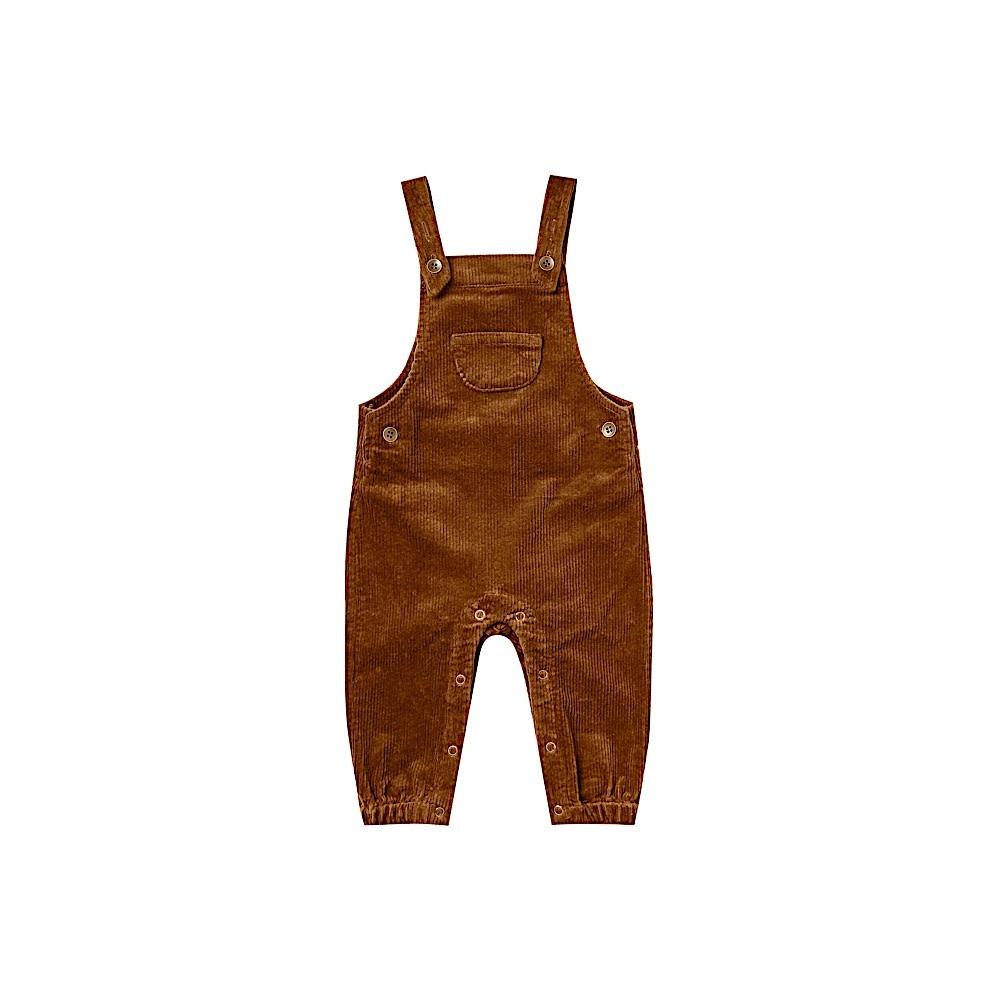 Rylee + Cru Corduroy Overall - Cinnamon