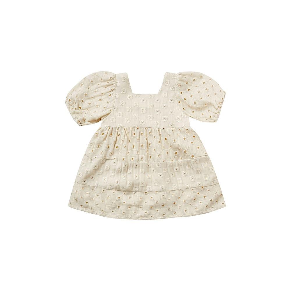 Rylee + Cru Rylee + Cru Gretta Baby Doll Dress - Natural