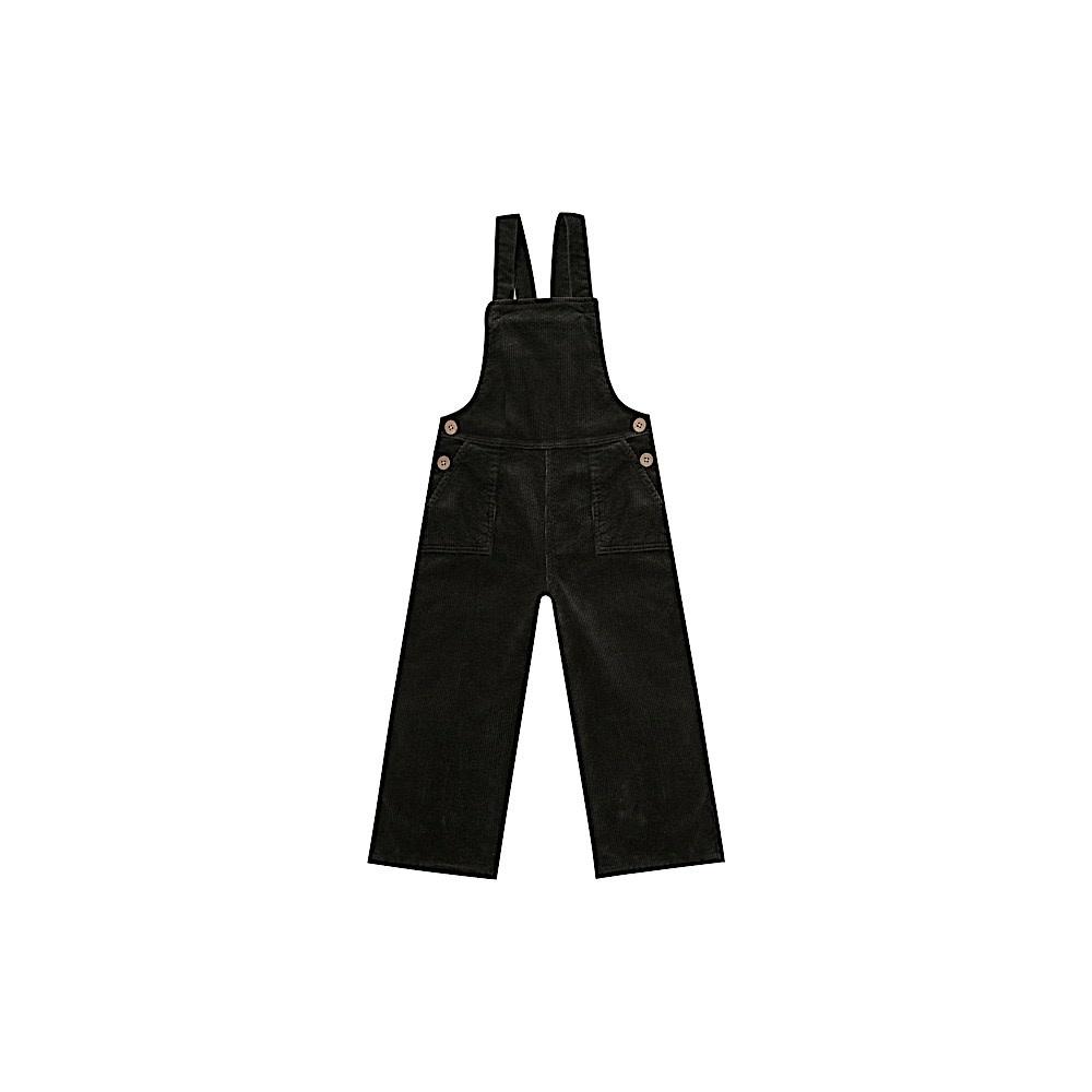 Rylee + Cru Rylee + Cru Wide Leg Overall - Vintage Black