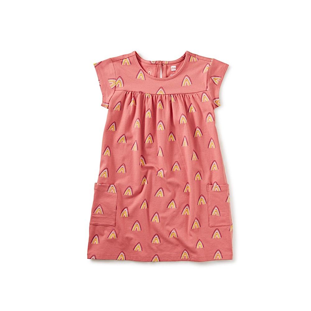 Tea Collection Tea Collection Pocket Dress - Rainbow Mountain