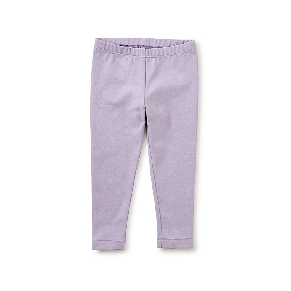 Tea Collection Tea Collection Solid Baby Leggings - Heirloom Lilac