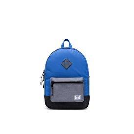 Herschel Supply Co. Herschel Heritage Youth Backpack - Amparo Blue/Mid Grey Crosshatch/Black Crosshatch