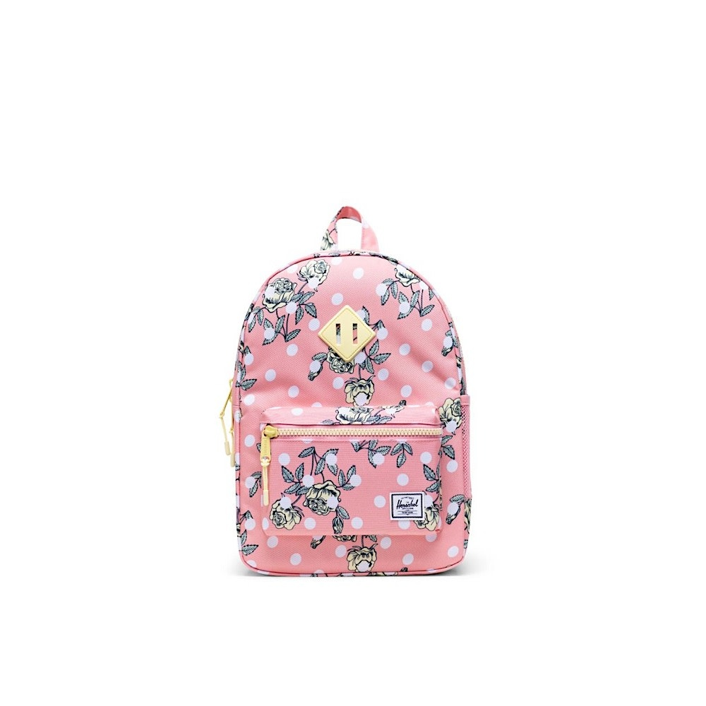 Herschel Heritage Youth Backpack - Polka Floral Peony