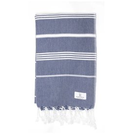 KT Woven KT Woven - Classic Turkish Towel - Navy