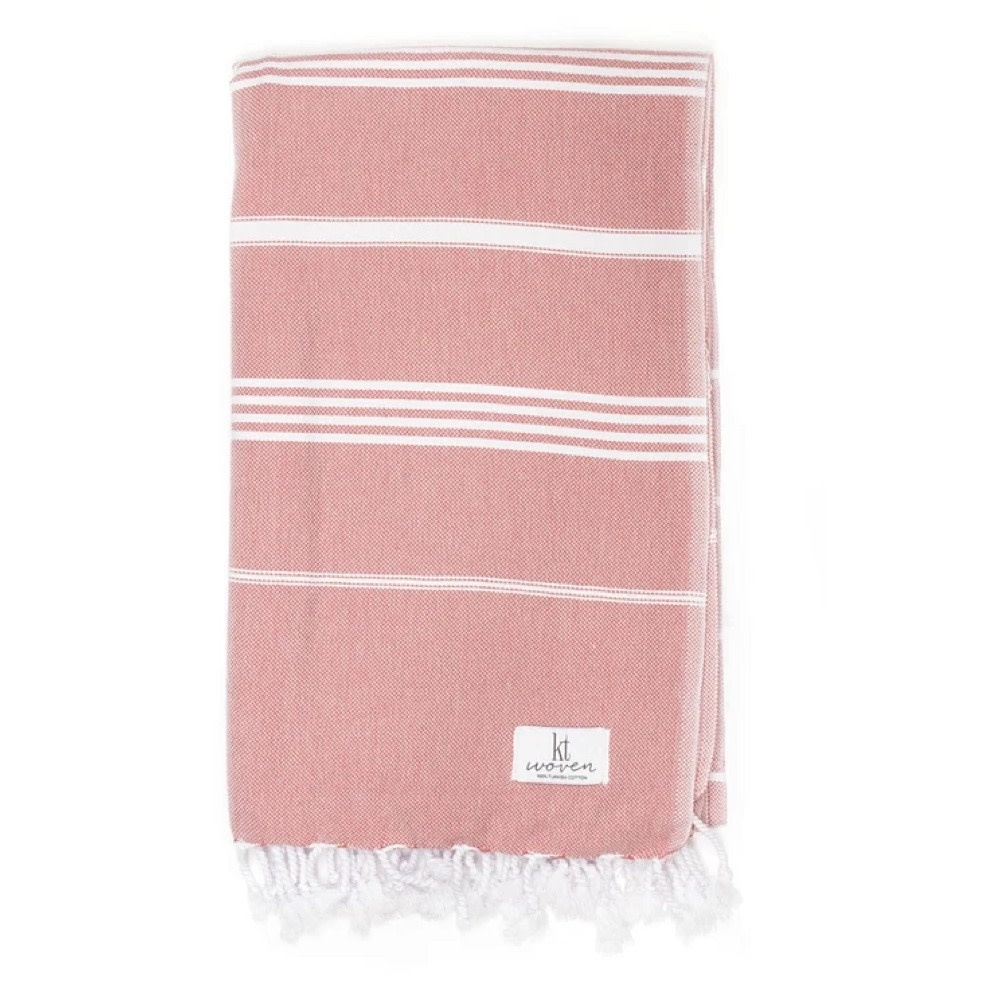 KT Woven KT Woven - Classic Turkish Towel - Clay