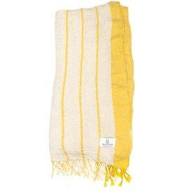 KT Woven KT Woven - Breeze Peshtemal - Yellow