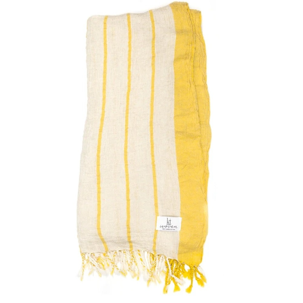 KT Woven - Breeze Peshtemal - Yellow