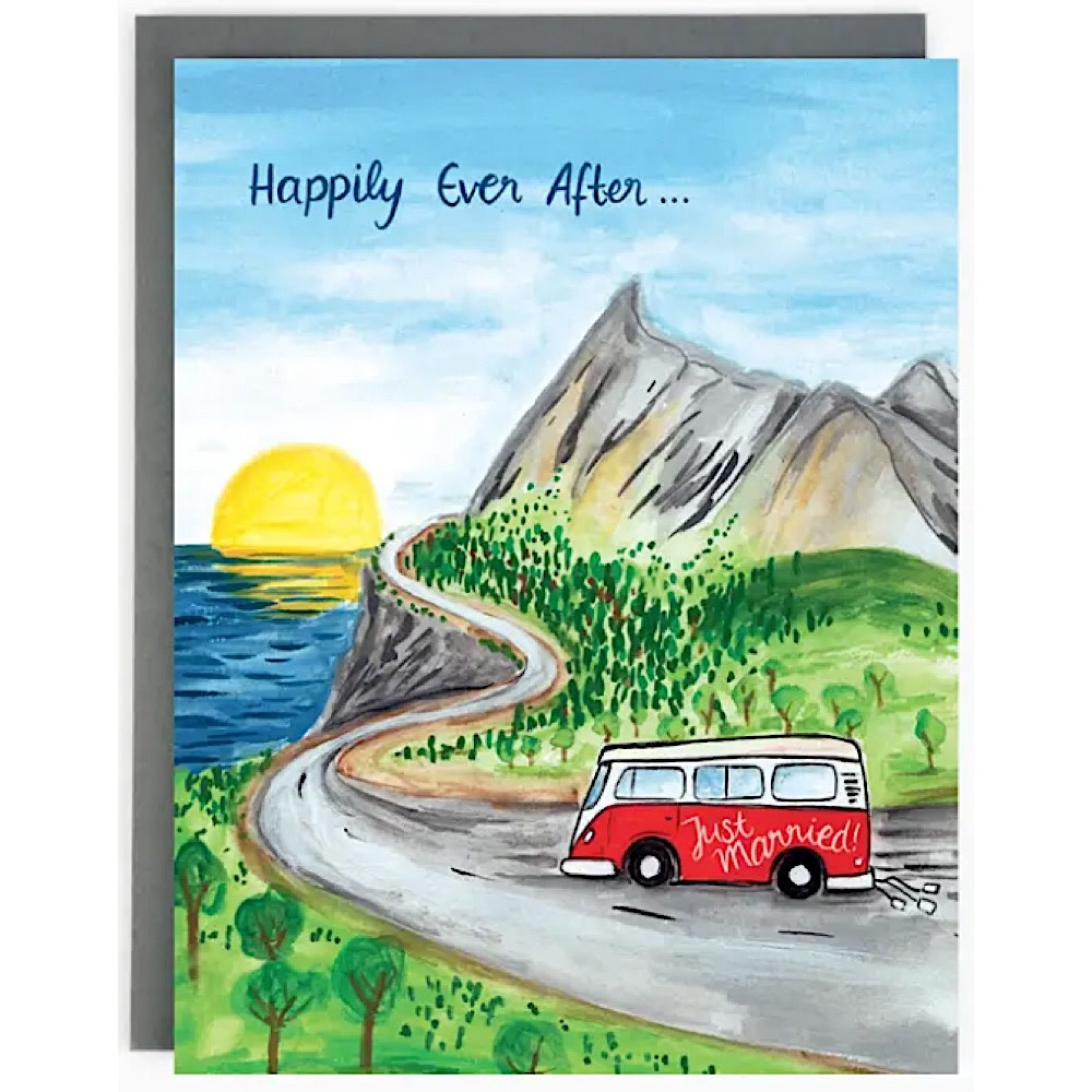 The Paperhood Card - Wedding Roadtrip