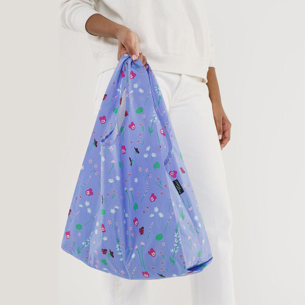 Standard Baggu - Blue Wildflowers