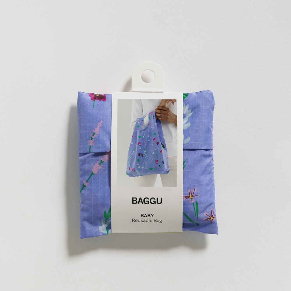 Baggu Baby - Blue Wildflowers