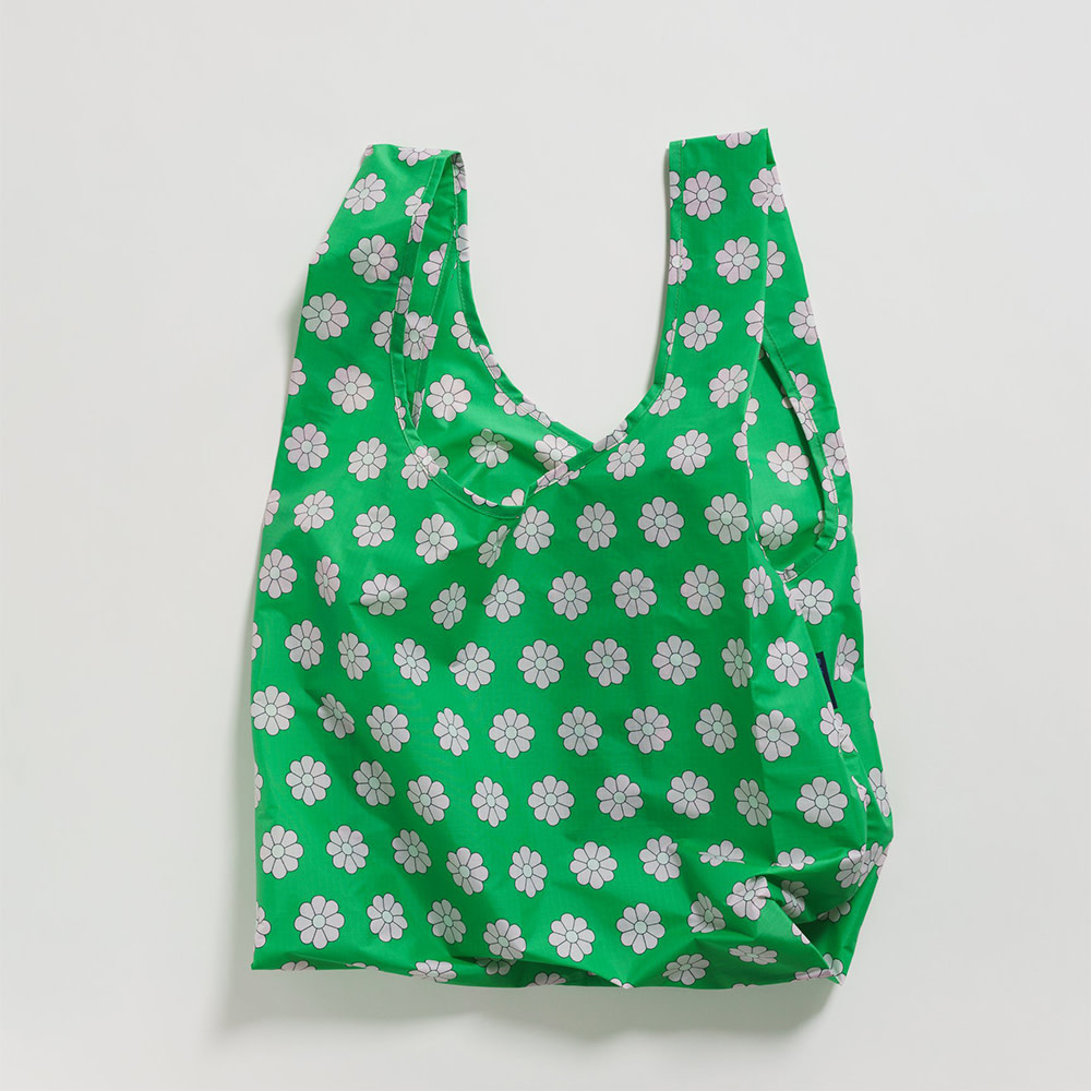 Baggu Standard Baggu - Green Daisy