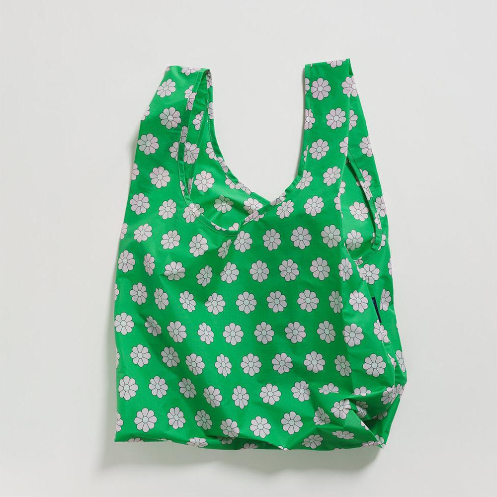 Standard Baggu - Green Daisy