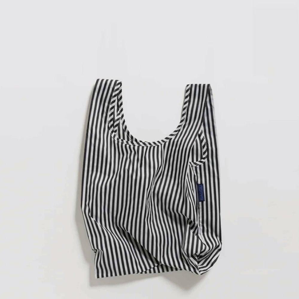 Baggu Baby - Black and White Stripe