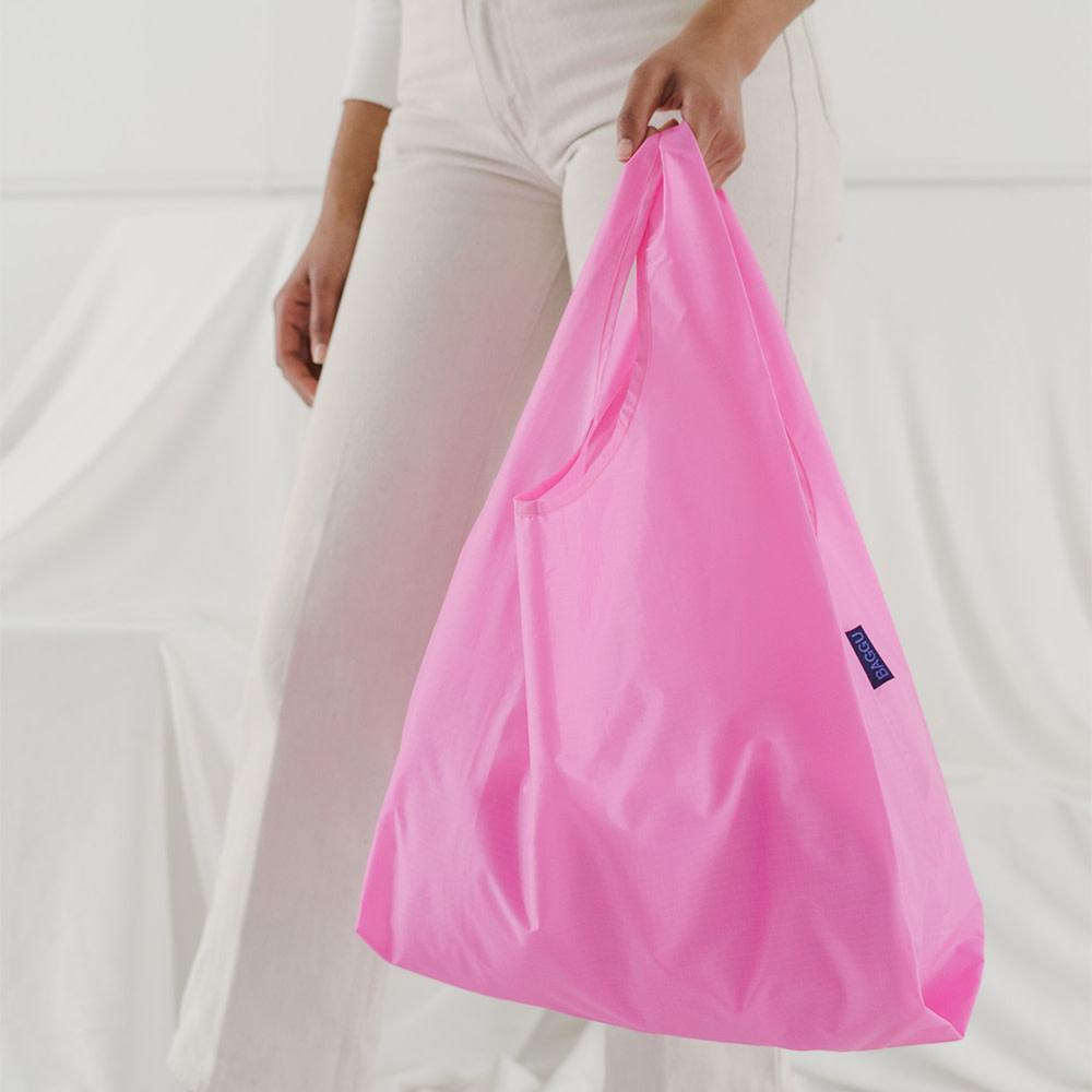 Standard Baggu - Bright Pink
