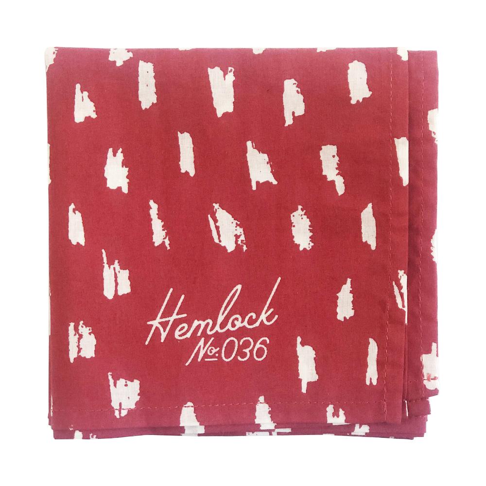 Hemlock Bandana - No. 036 Scarlet