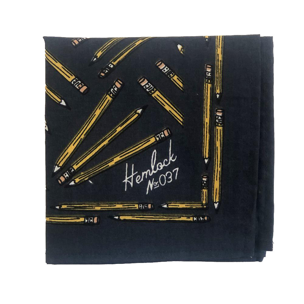 Hemlock Bandana - No. 037 Pencils