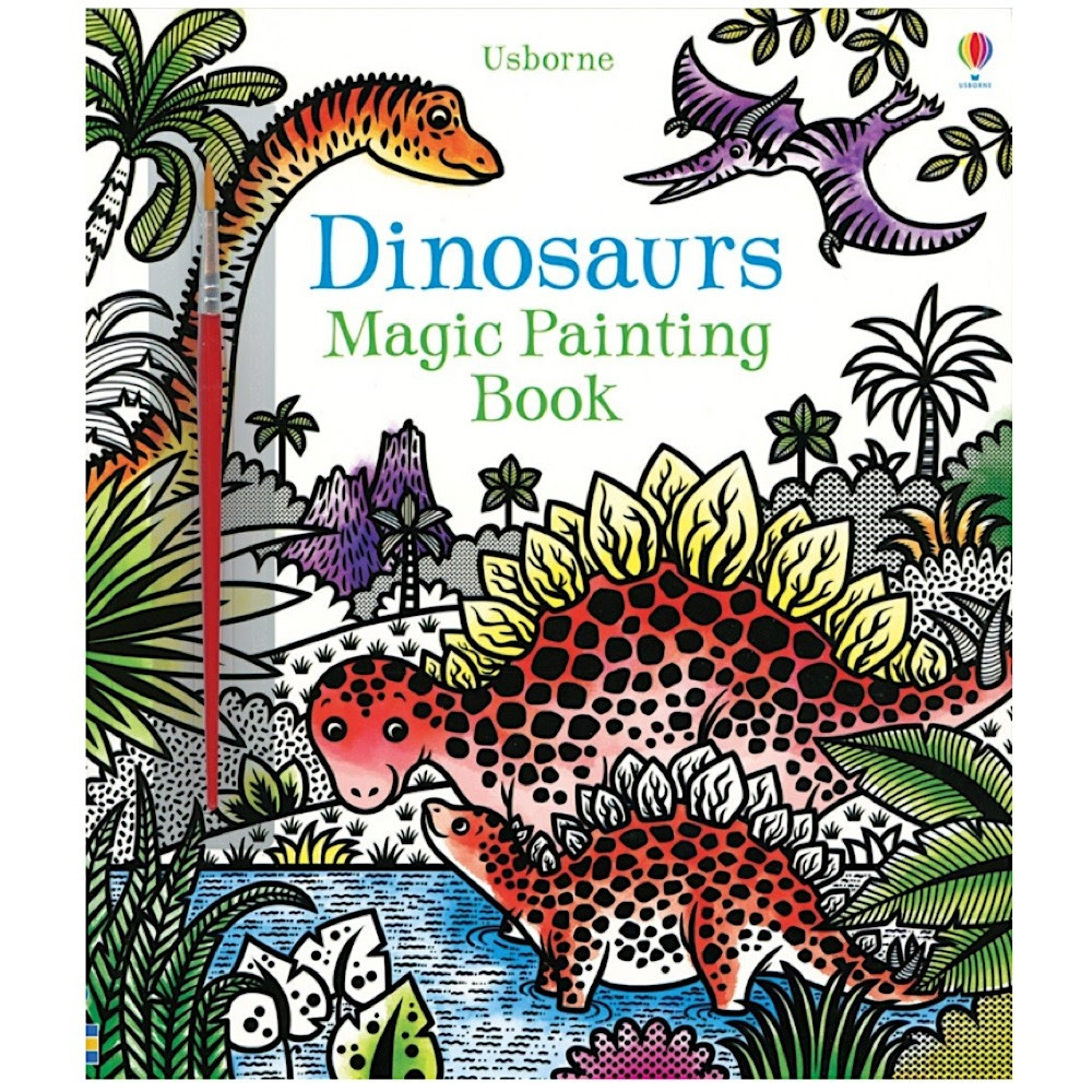 Usborne Magic Painting Dinosaurs