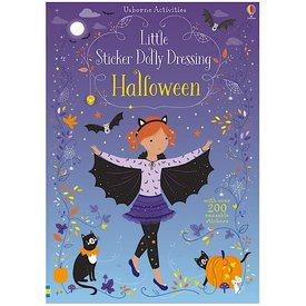 Usborne Little Sticker Dolly Dressing Halloween