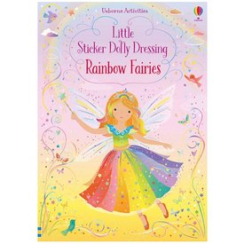 Usborne Little Sticker Dolly Dressing Rainbow Fairies