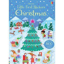Usborne Little First Stickers - Christmas