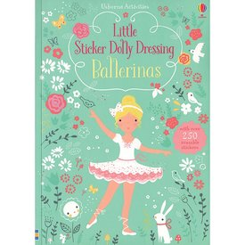Usborne Little Sticker Dolly Dressing Ballerinas
