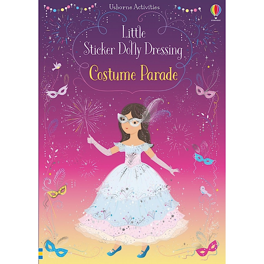 Usborne Little Sticker Dolly Dressing Costume Parade