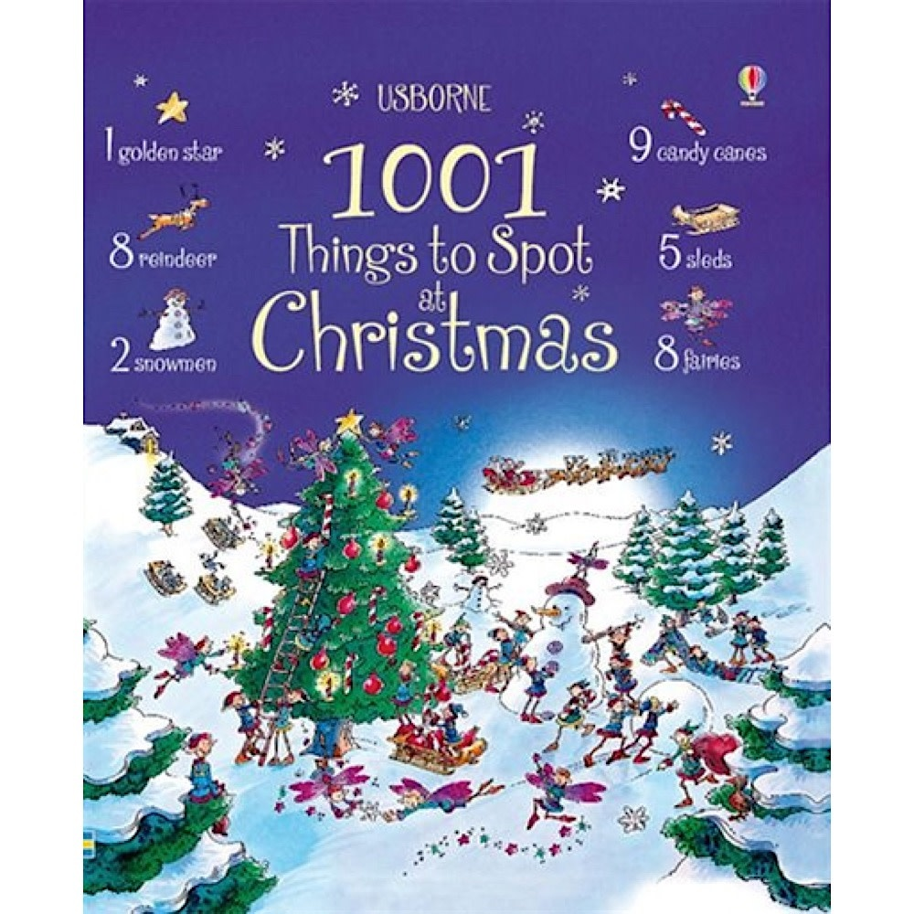 Usborne 1001 Things to Spot at Christmas
