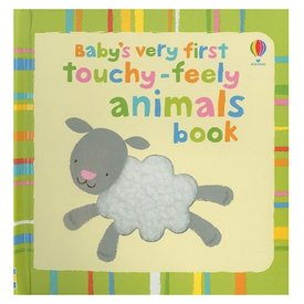 Usborne Baby's Very First Touchy-Feely Animals Book