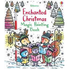 Usborne Enchanted Christmas Magic Painting Book