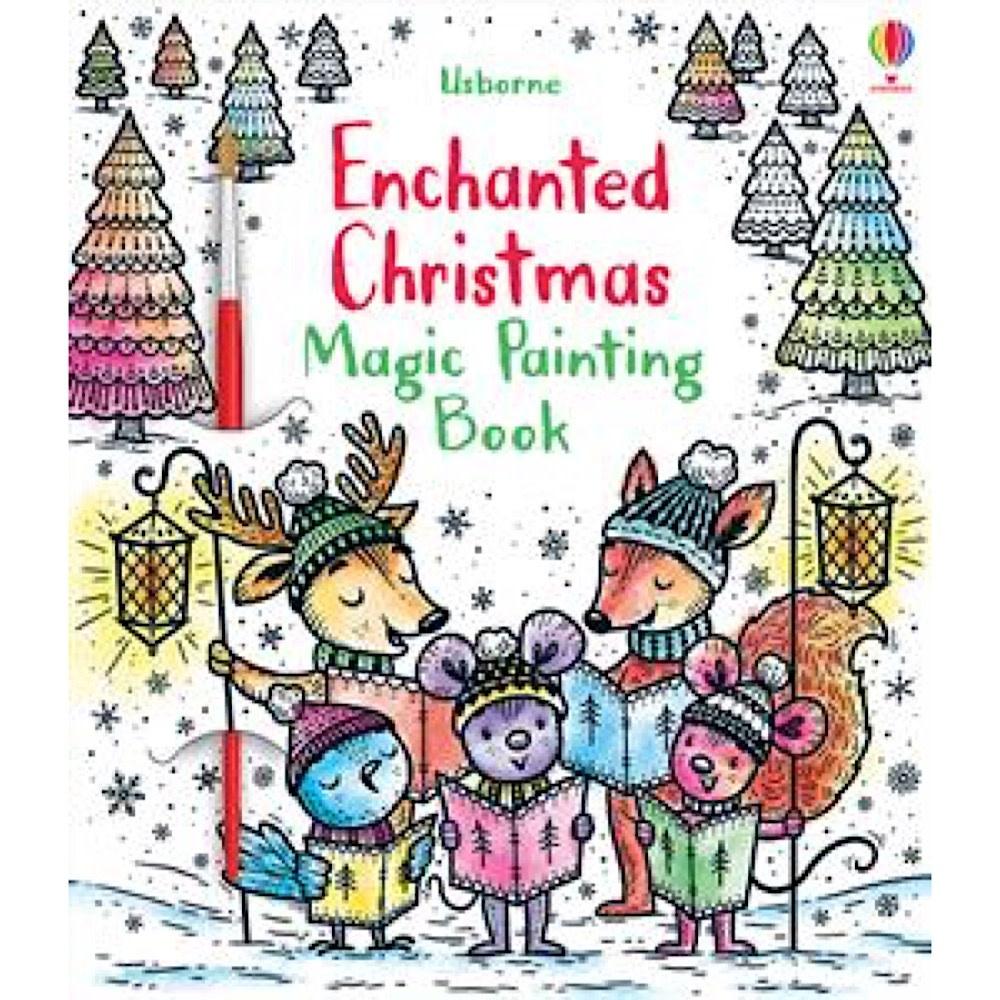 Usborne Enchanted Christmas Magic Painting Book