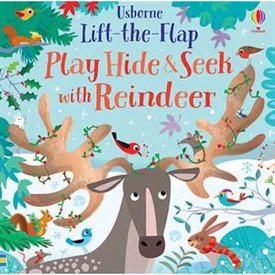 Usborne Lift the Flap Play Hide & Seek with Reindeer