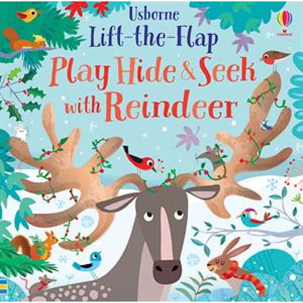 Usborne Lift the Flap Play Hide & Seek with Reindeer