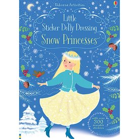 Usborne Little Sticker Dolly Dressing Snow Princess