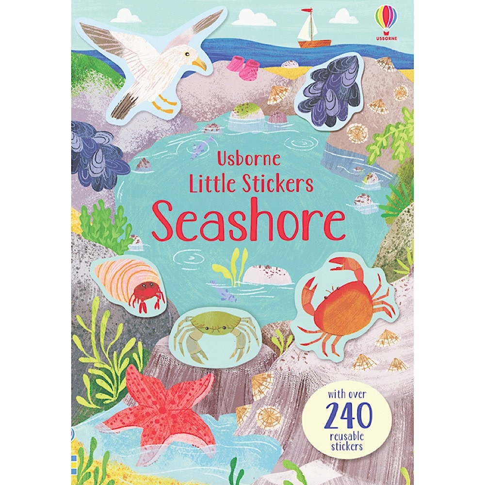 Usborne Little Stickers Seashore