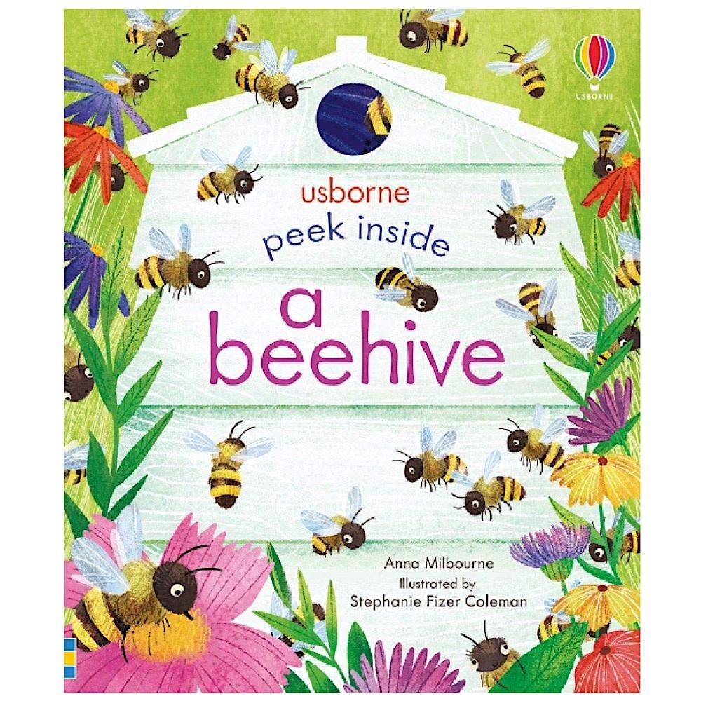 Usborne Peek Inside A Beehive