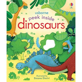 Usborne Peek Inside Dinosaurs Board Book