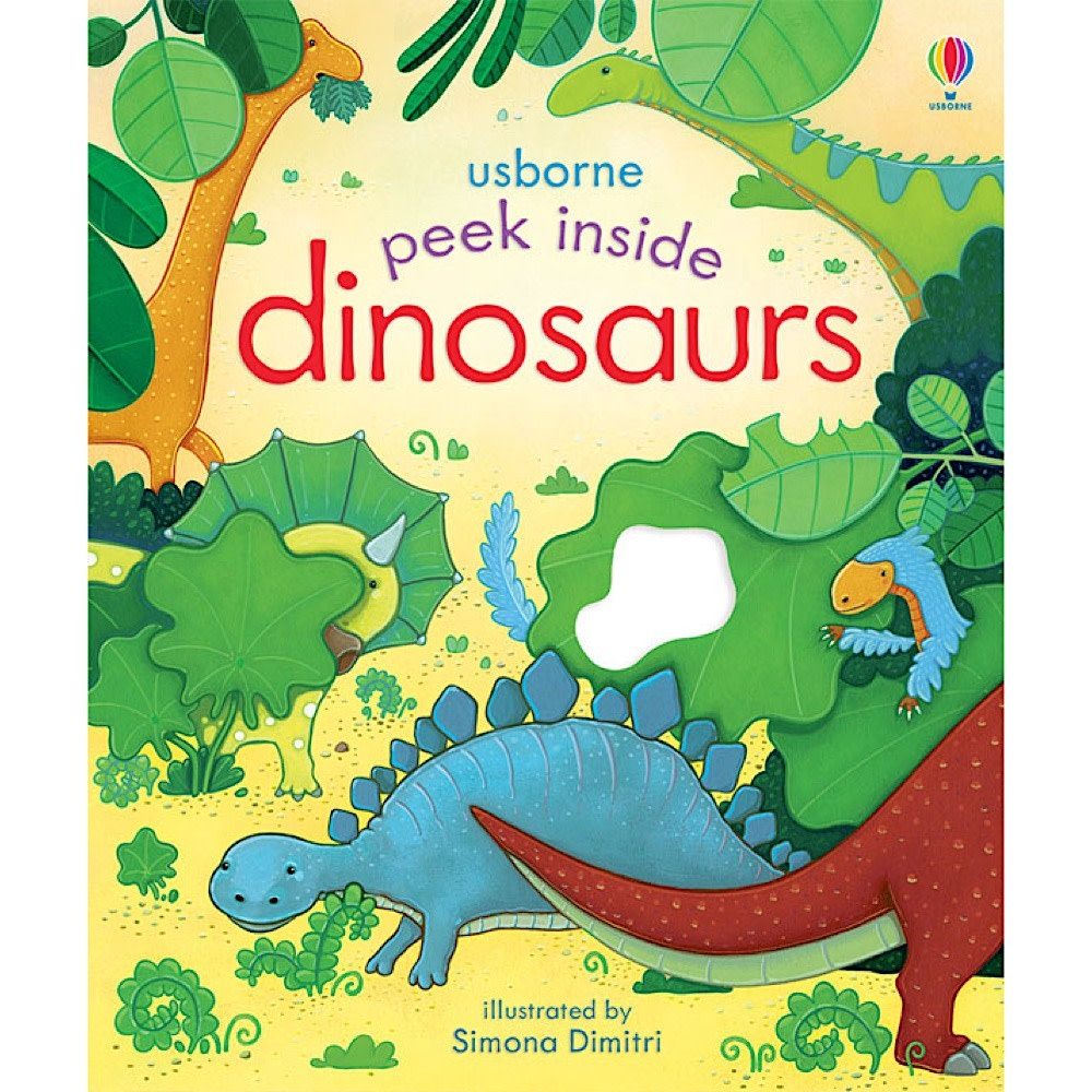 Peek Inside Dinosaurs Board Book