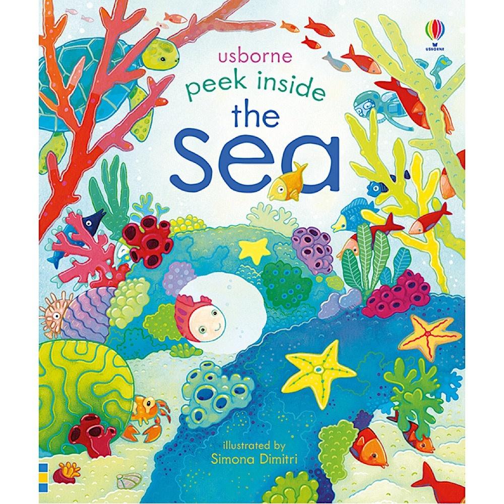 Peek Inside the Sea Board Book