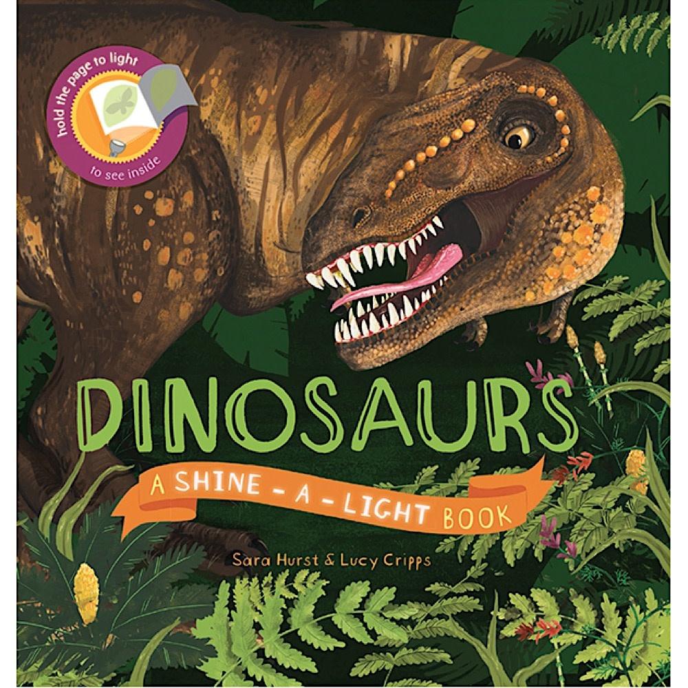 Usborne Shine A Light - Dinosaurs