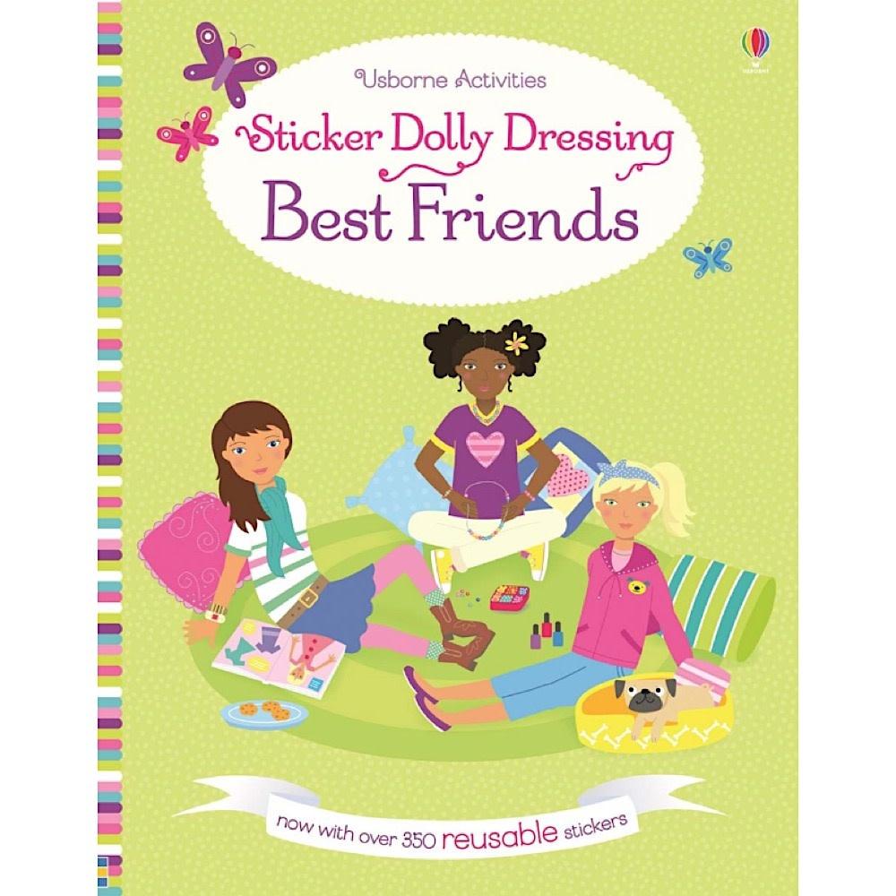 Usborne Sticker Dolly Dressing Best Friends