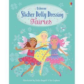 Usborne Sticker Dolly Dressing Fairies Version 2