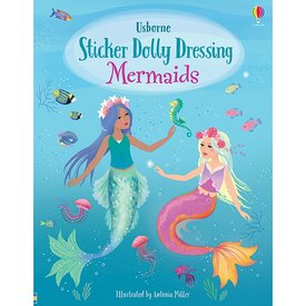 Usborne Sticker Dolly Dressing Mermaids