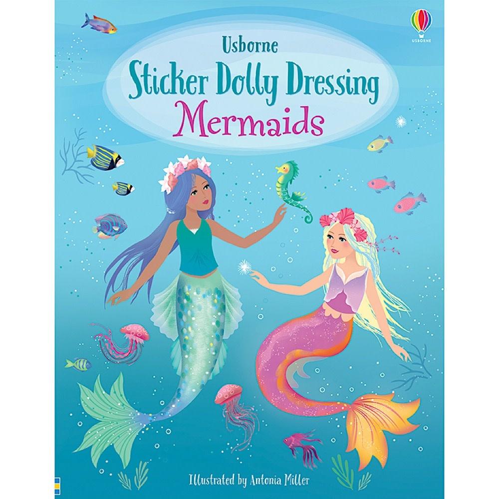 Usborne Sticker Dolly Dressing Mermaids
