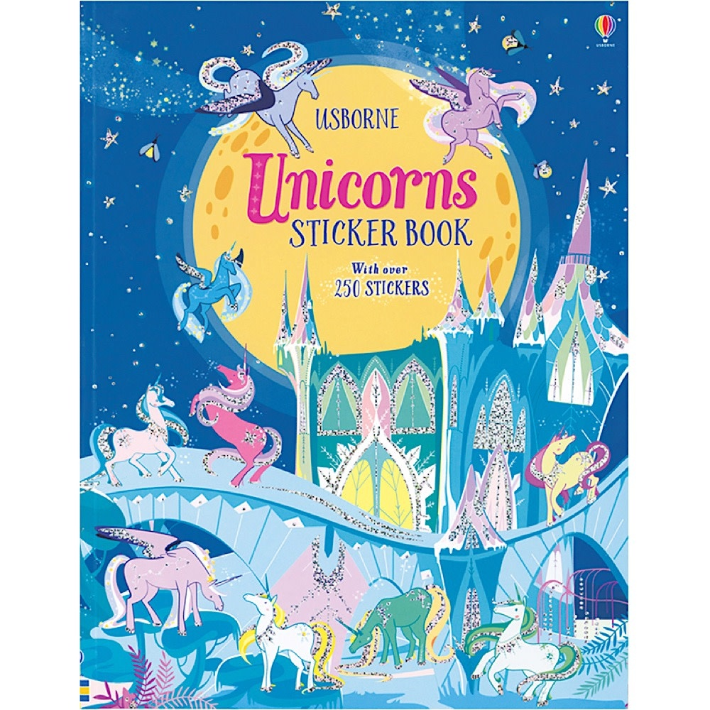 Usborne Unicorns Sticker Activity Book