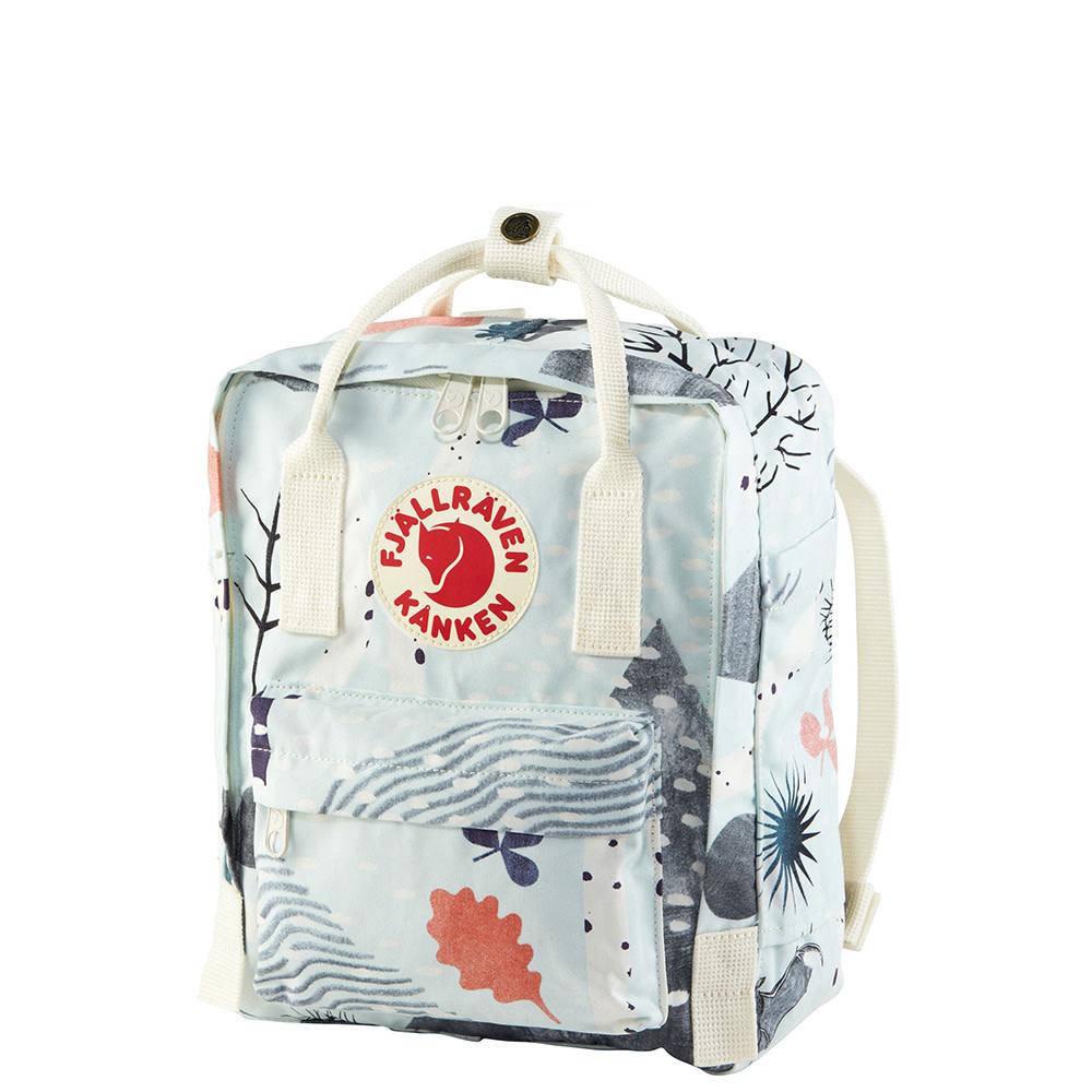 Fjallraven Kanken Mini Backpack - Art - Birch Forest
