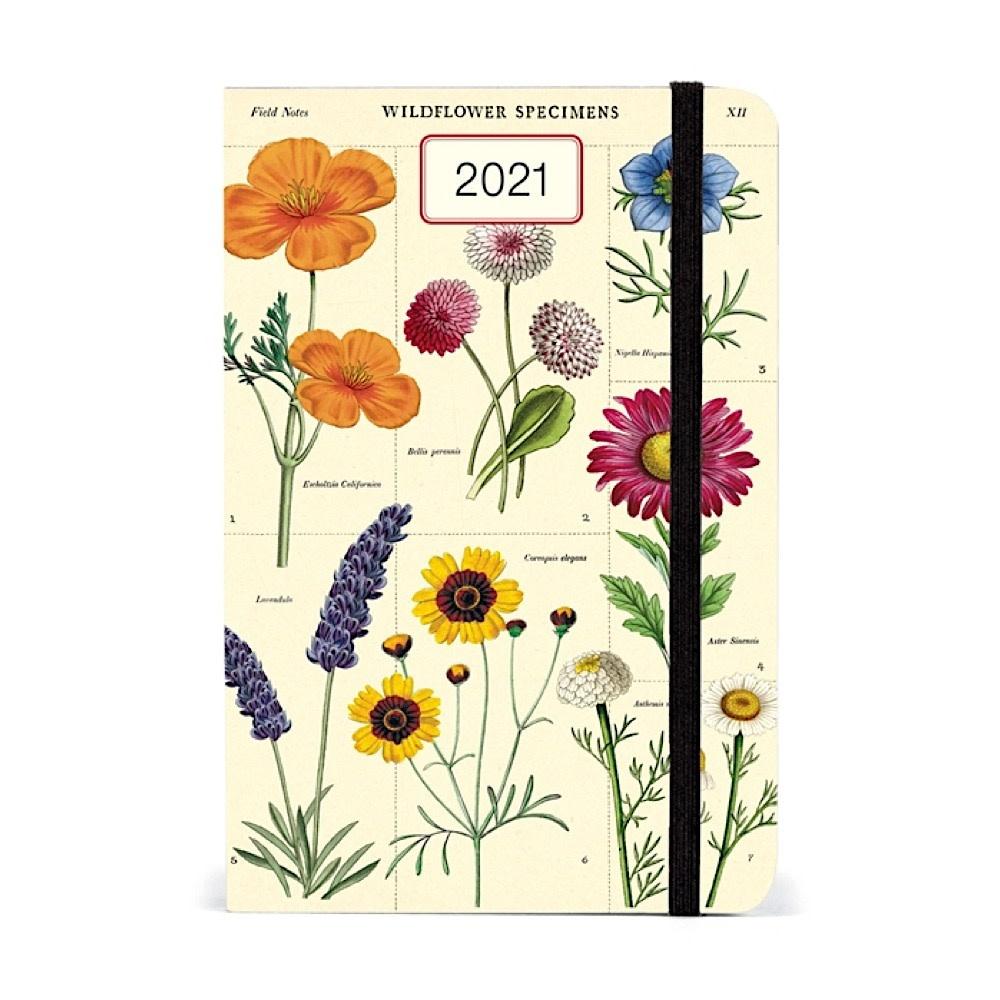 Cavallini Papers & Co., Inc. Cavallini Weekly Planner - Wild Flowers 2021