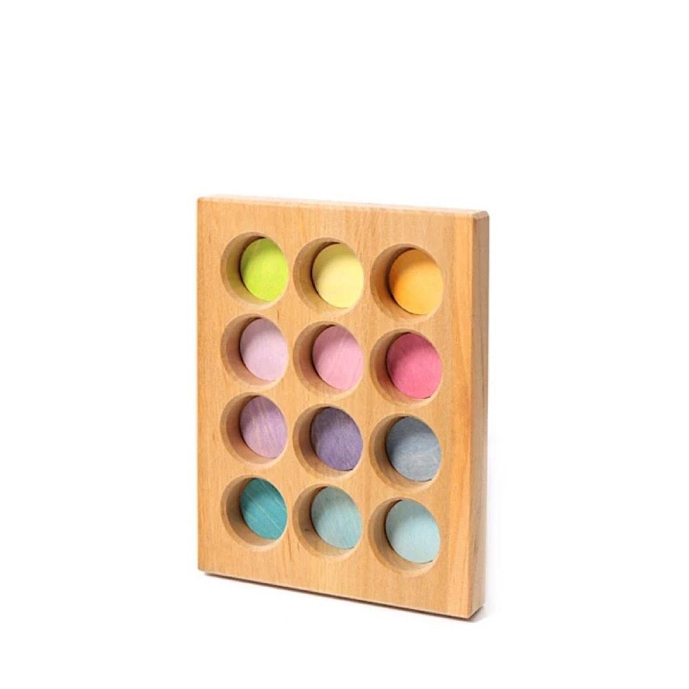 Grimms Sorting Board - Pastel