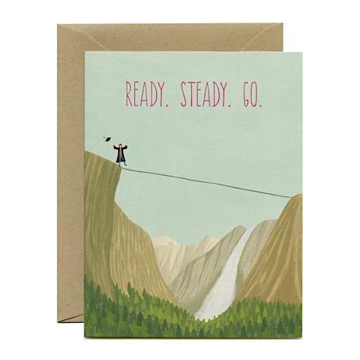Yeppie Paper Ready Steady Go Card