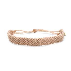 Pura Vida Pura Vida Bracelet - Flat Braided Blush