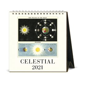 Cavallini Papers & Co., Inc. Cavallini Desk Calendar - Celestial 2021